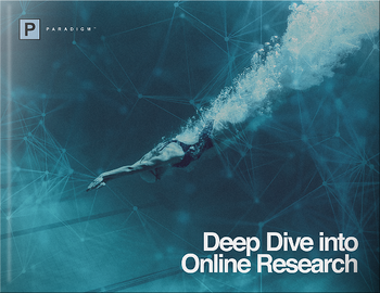 Deep Dive into Online Research